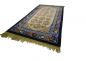 Mobile Preview: China Classic blau / beige 120 x 220 cm