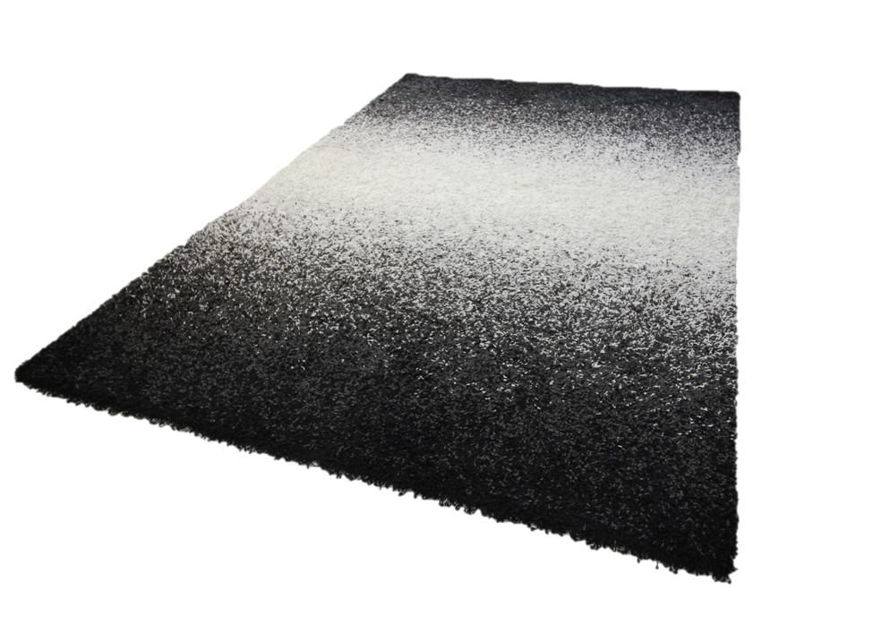 hochwertige orientteppiche modern und klassisch joy schwarz weiss farbenverlauf 200 x 290 cm. Black Bedroom Furniture Sets. Home Design Ideas