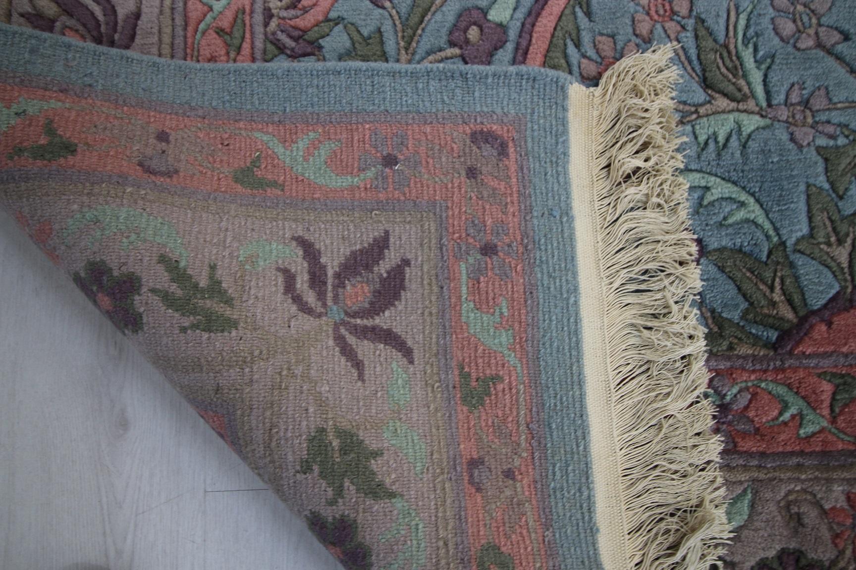 hochwertige orientteppiche modern und klassisch nepal teppich 375 x 247 cm. Black Bedroom Furniture Sets. Home Design Ideas